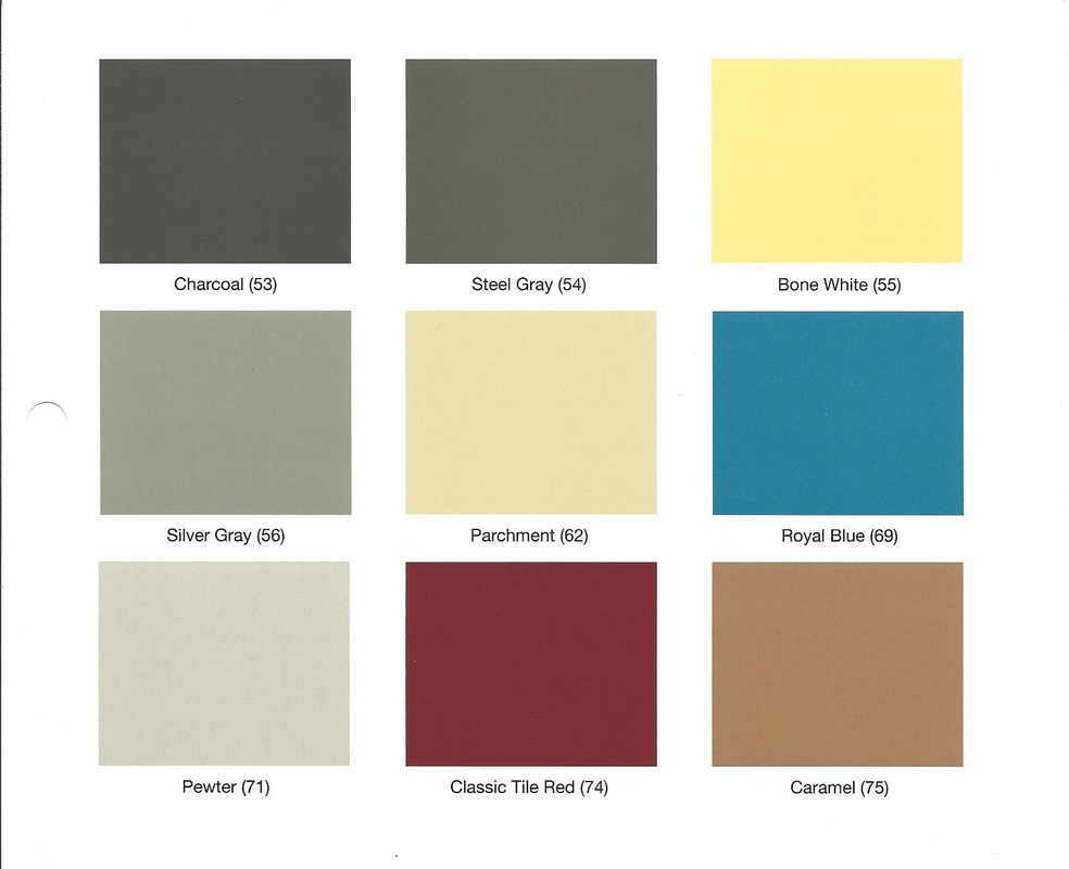 Specialty Flooring Systems : Color chart basic atkins general construction